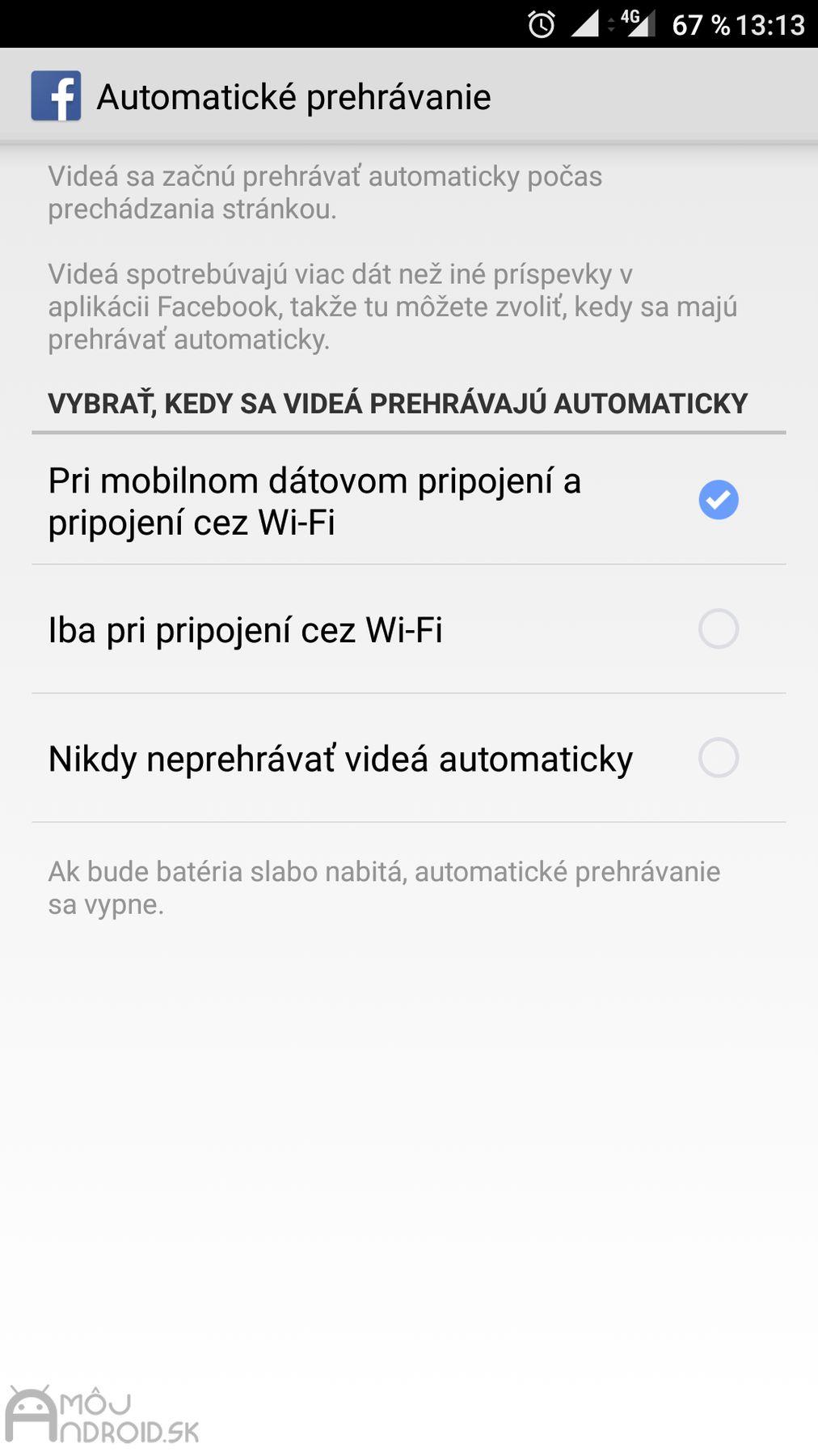 Len pripojiť mobilnú verziu