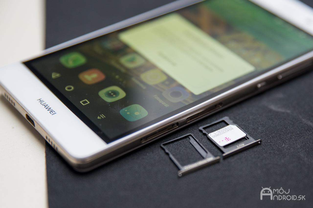 Starší systém pre hybridný dual SIM