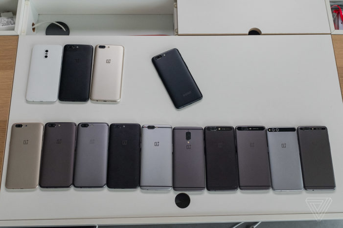 OnePlus 5 dizajn, zdroj: The Verge