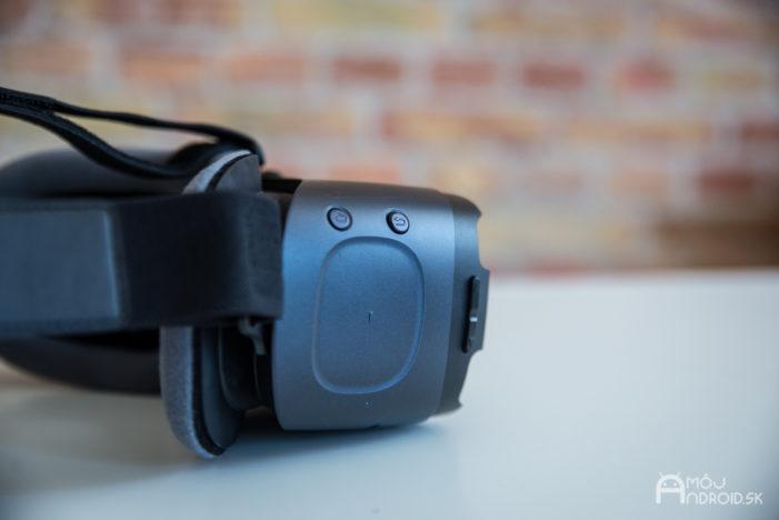 357b36f93 Novinkou v porovnaní s predchádzajúcou generáciou Gear VR je herný ovládač.  Obsahuje tiež tlačidlá Späť, Domov a Ovládanie hlasitosti.