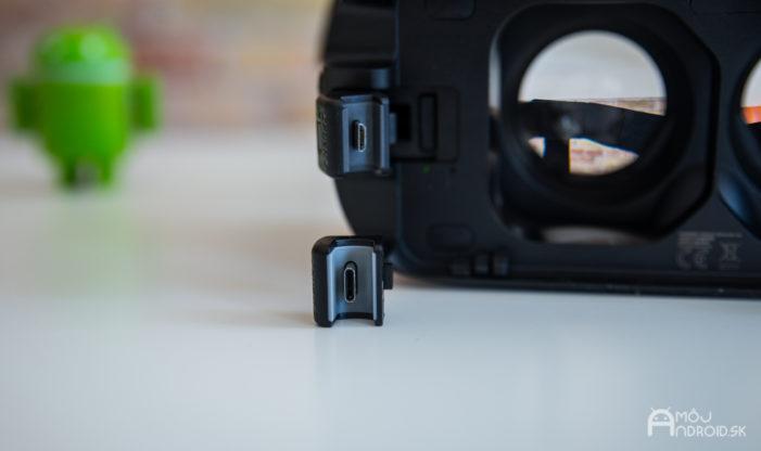 58602d205 Samsung Gear VR Oculus sú vyrobené prevažne z plastu, no nachádzajú sa tu  aj dve šošovky, ktoré je vhodné často vyleštiť. Zachytávajú sa na nich  nečistoty ...
