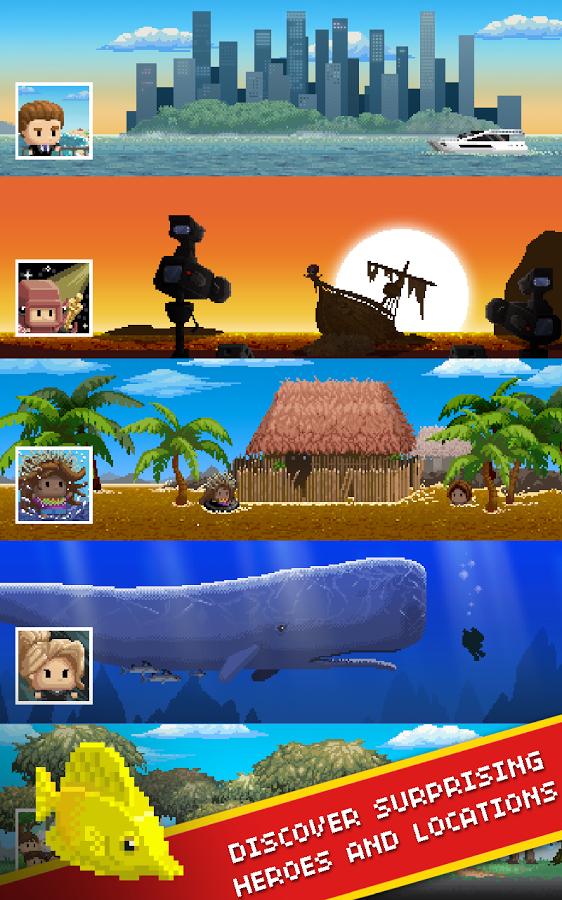 Desert island fishing tak trochu in ryba ka pre android for Desert island fishing
