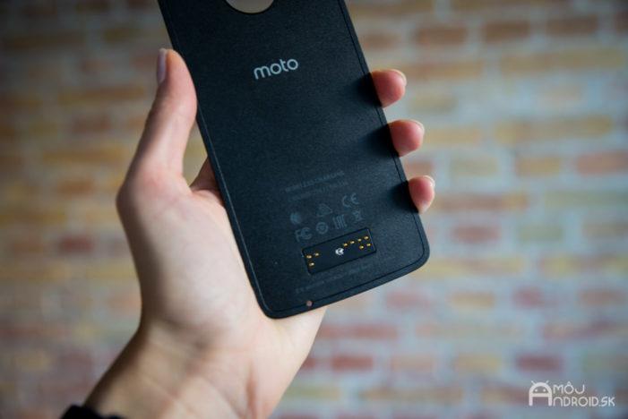 3 600 mAh batéria sa pravdepodobne buda dať prepojiť aj s Moto Mod powerbankou