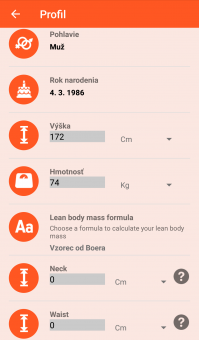 Notify & Fitness for Mi Band - Profil 1/2