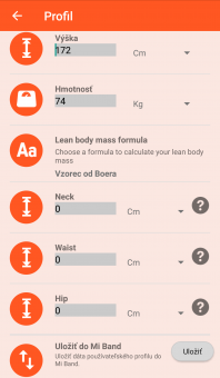 Notify & Fitness for Mi Band - Profil 2/2