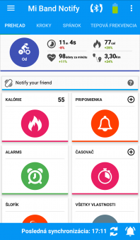 Notify & Fitness for Mi Band - Prehľad 2/2