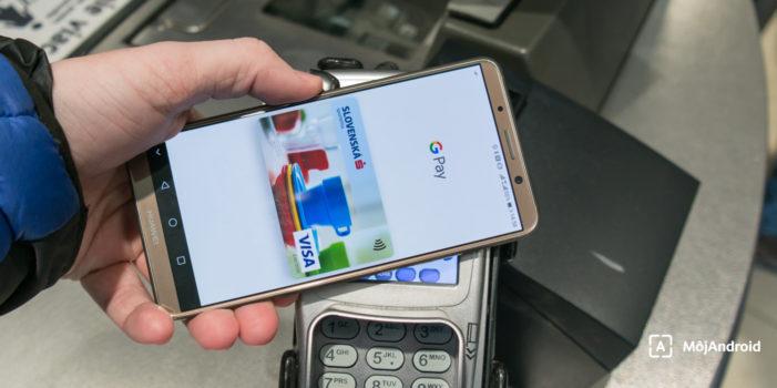 Platby telefónom fungujú na Slovensku už niekoľko mesiacov