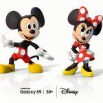Samsung Galaxy S9/S9+ vás premenia na Mickey Mousa a Minnie