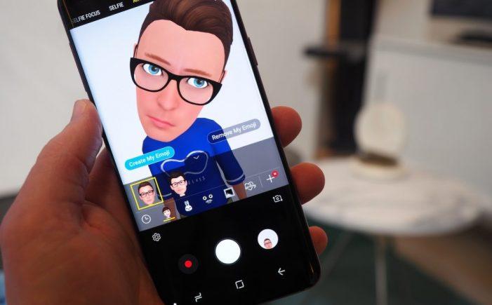 AR Emoji (Samsung Galaxy S9)