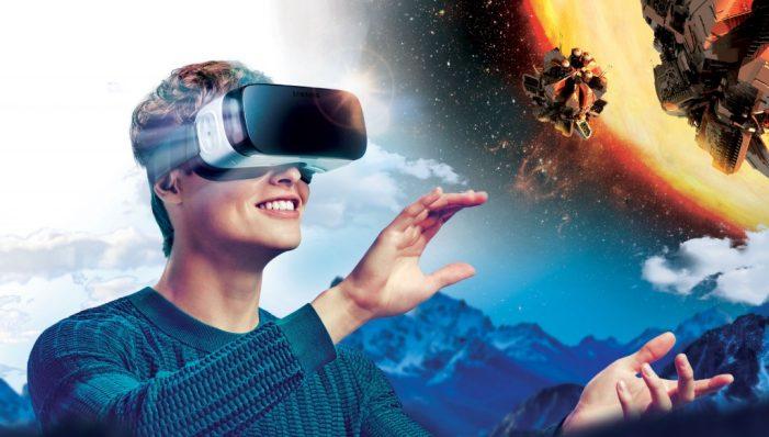 Pomocou virtuálnej reality sa môžete v tobogáne preniesť do fiktívneho dobrodružného sveta