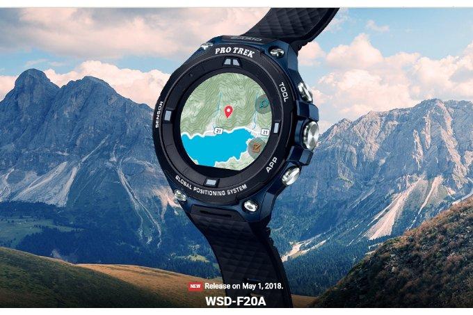 Casio WSD-F20A - lacnejší variant minuloročného modelu - MojAndroid.sk 23bb77190e2