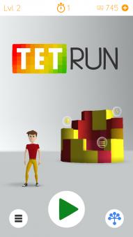 Úvodná obrazovka hry
