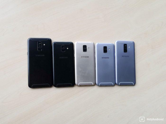 Nové Samsungy Galaxy A6 a A6+ boli predstavené pre slovenský trh