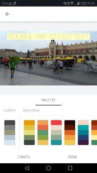 Ovplyvniť môžete dominantné farby...