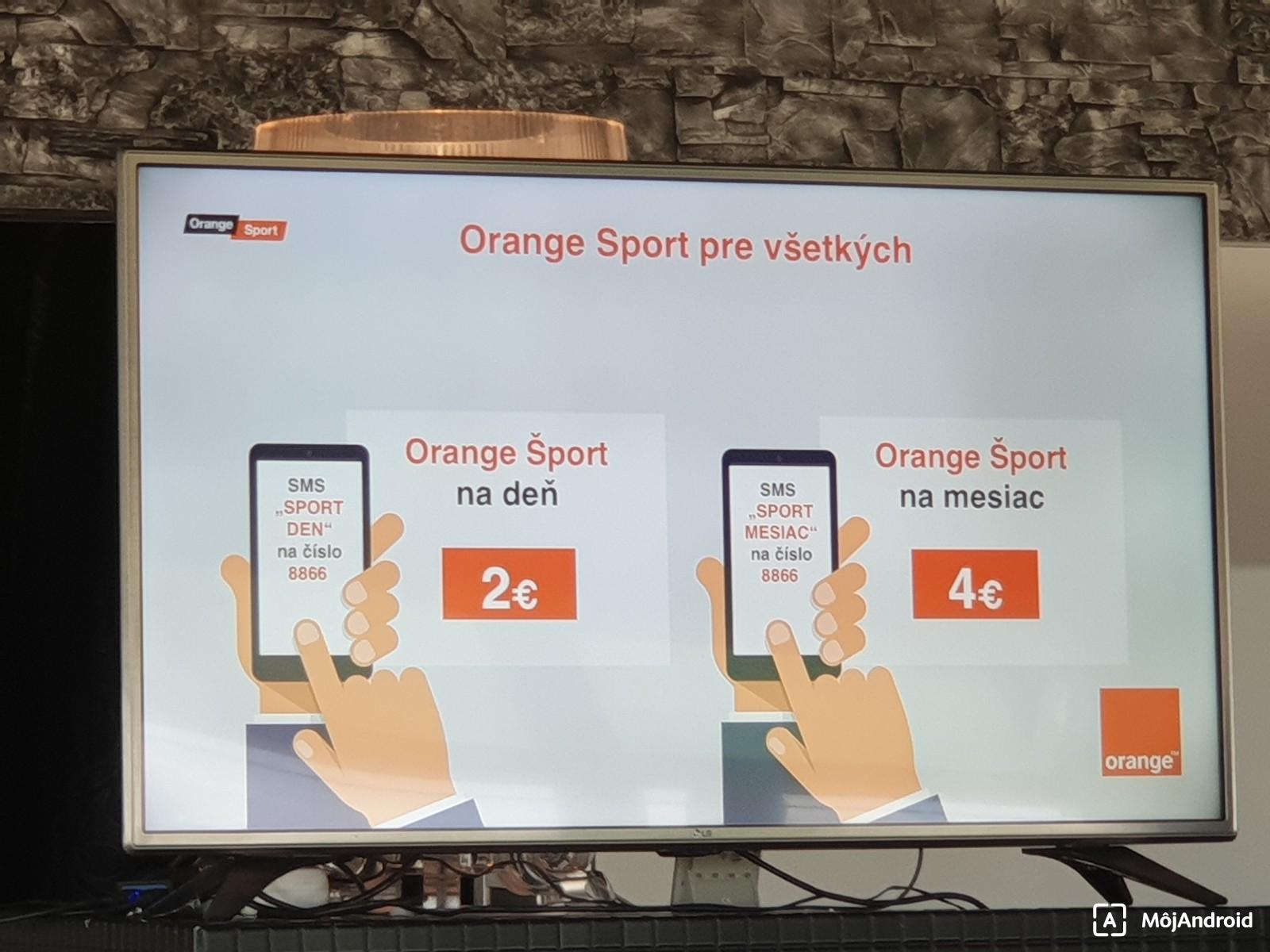 12372b47b Orange spustil nový kanál Orange Šport, pozriete si ho cez satelit ...