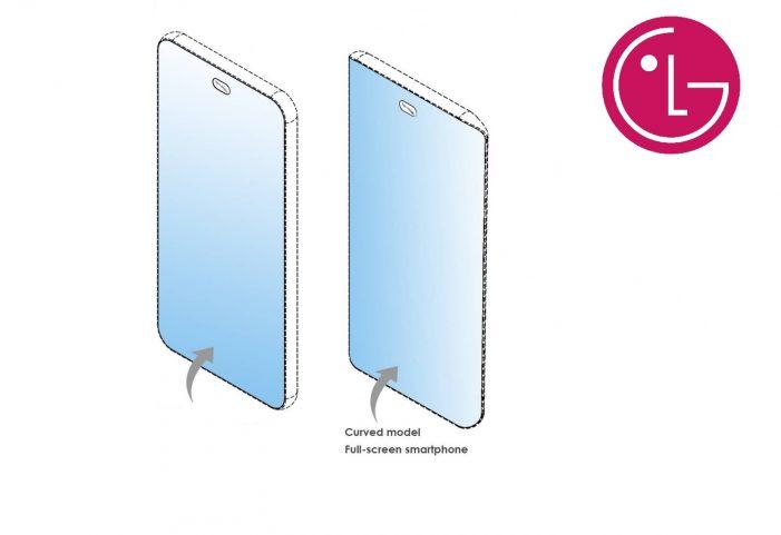 Novší patent zobrazuje predný snímač v strede hornej časti