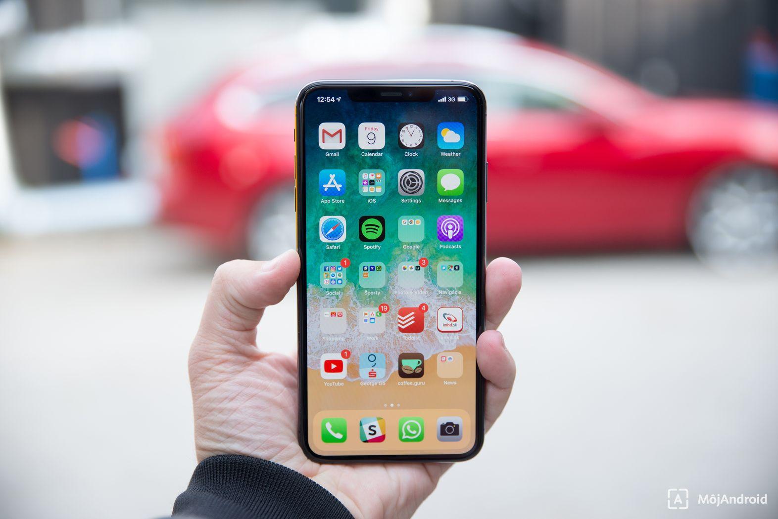 Apple iPhone XS Max displej