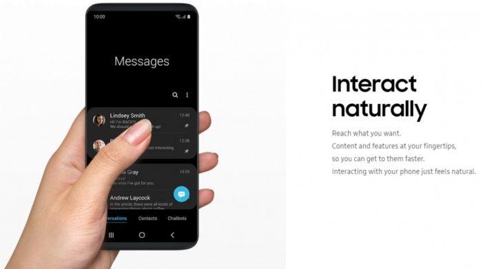 Prostredie One UI si vďaka beta verzii môžu otestovať majitelia modelov Galaxy S9 a S9+