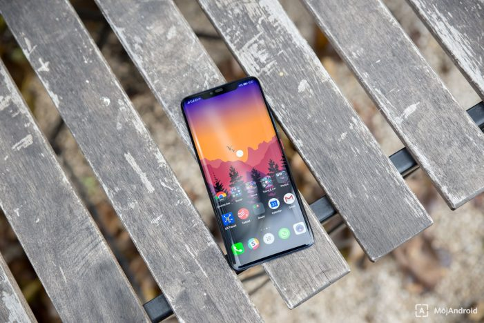Huawei Mate 20 Pro displej
