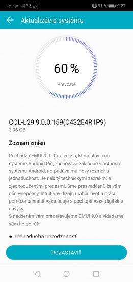 Aktualizácia má veľkosť skoro 4 GB, takže si pred stiahnutím balíčka overte pripojenie ku sieti Wi-Fi
