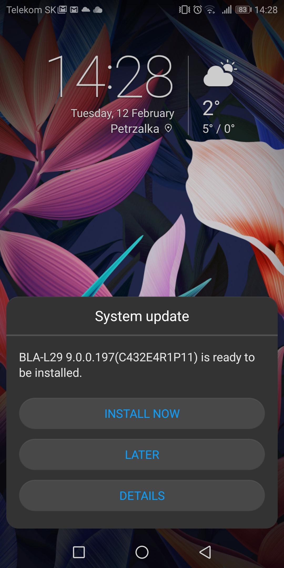 Huawei P20, P20 Pro a Mate 10 Pro dostávajú Android 9 0 Pie