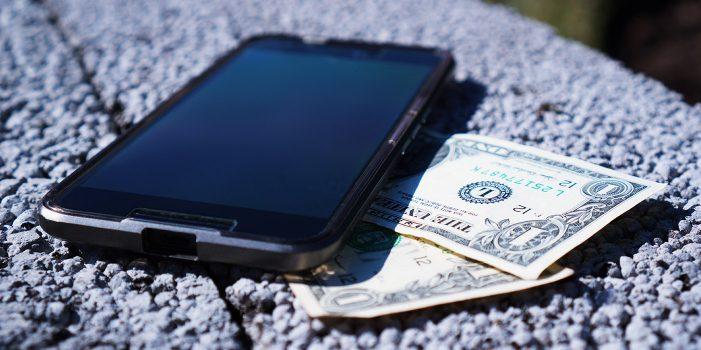 kradez e-shop nakup smartfonu