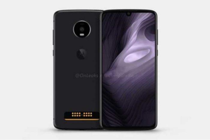 Motorola Moto Z4 Play má dizajnové črty moderných smartfónov