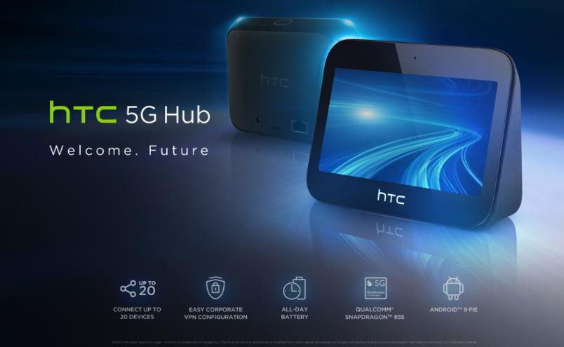f5ad5a9a9 HTC 5G Hub: Prvý 5G Hub na svete predstavený | MWC 2019
