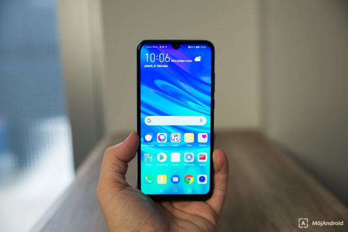 Huawei P smart 2019 displej