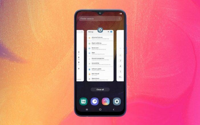 """Infinity-V displej s uhlopriečkou 6,2"""" bude môcť zobrazovať Android 9.0 Pie a nadstavbu One UI"""