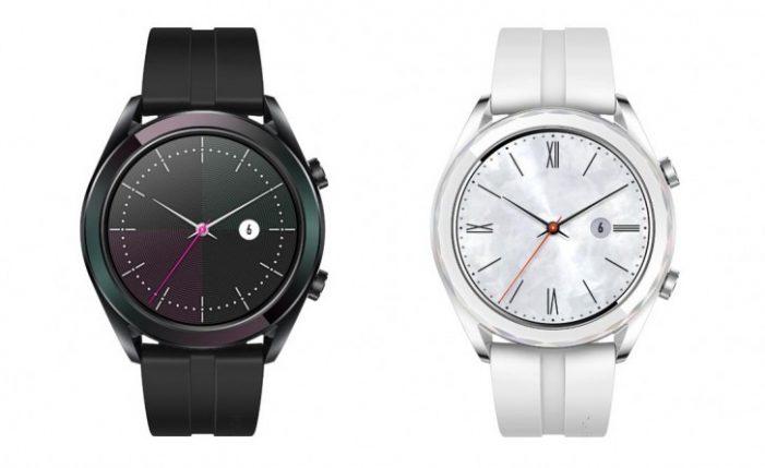 Huawei Watch GT Elegant budú dostupné v jednoduchších farbách a s menším displejom