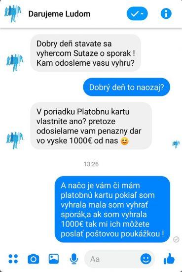 facebook hoax darujeme ludom 2