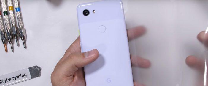 google pixel 3a jerryrigeverything titulka