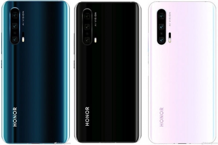 honor 20 pro farby