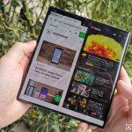 Huawei Mate X otvorený