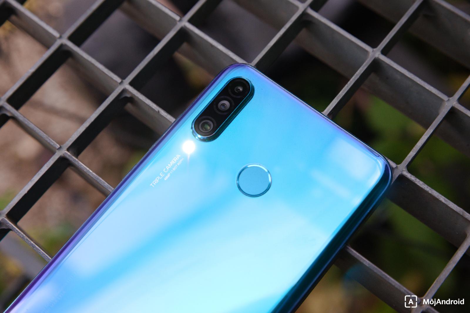 Huawei P30 Lite skener odtlackov