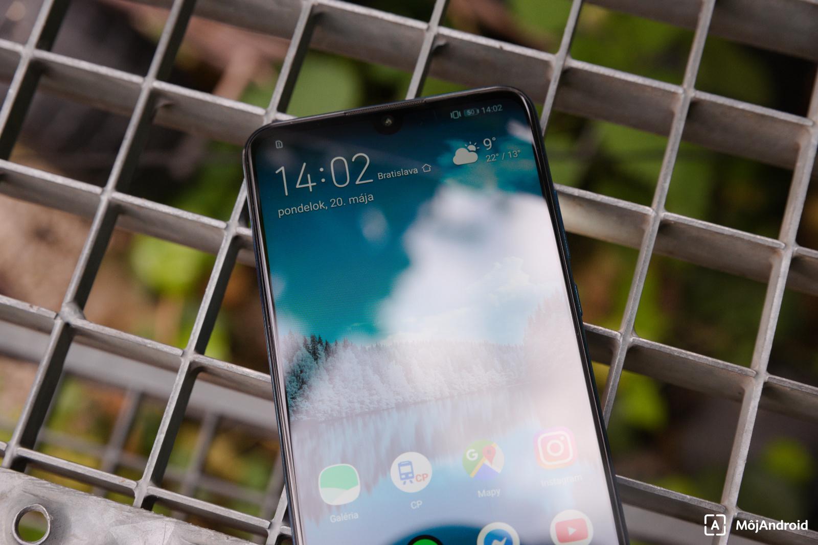 Huawei P30 Lite displej