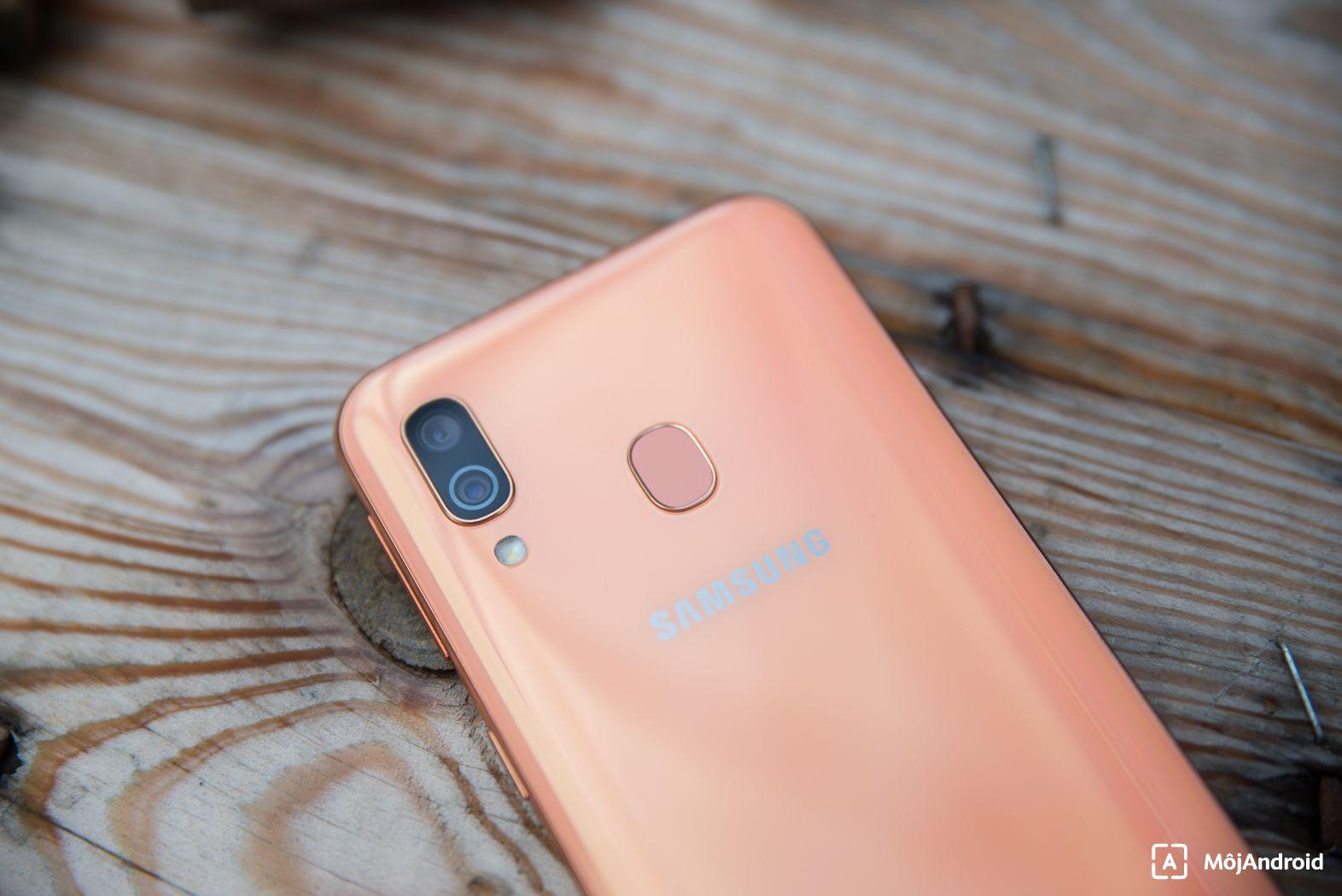 Samsung Galaxy A40 dostáva aktualizáciu na Android 11