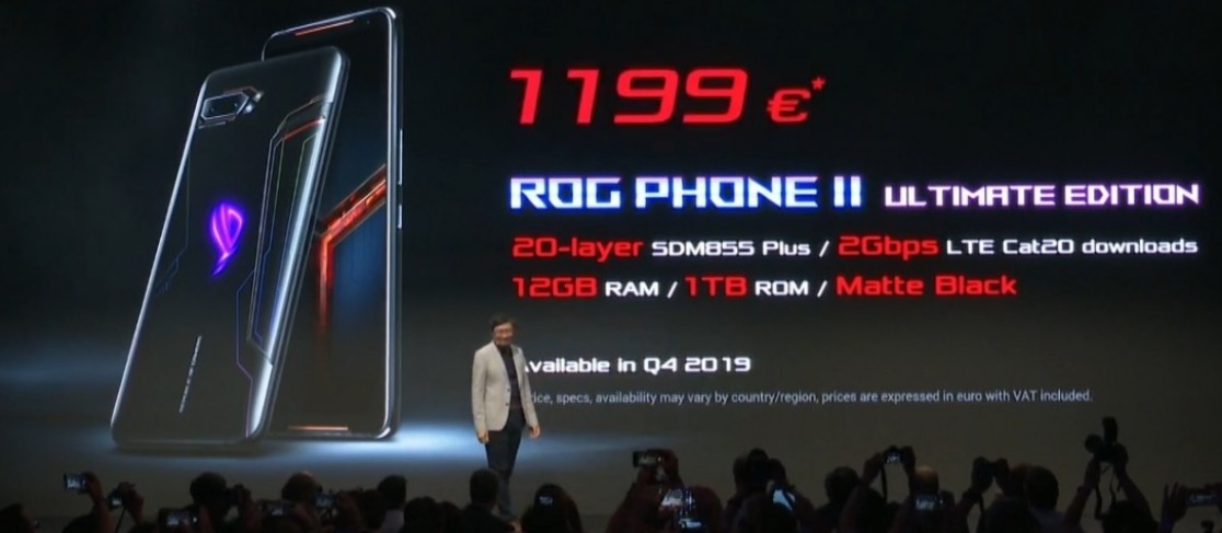 Asus ROG Phone II Ultimate cena