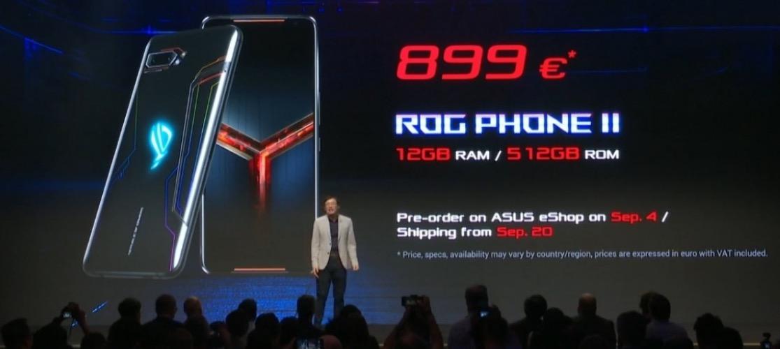 Asus ROG Phone II cena