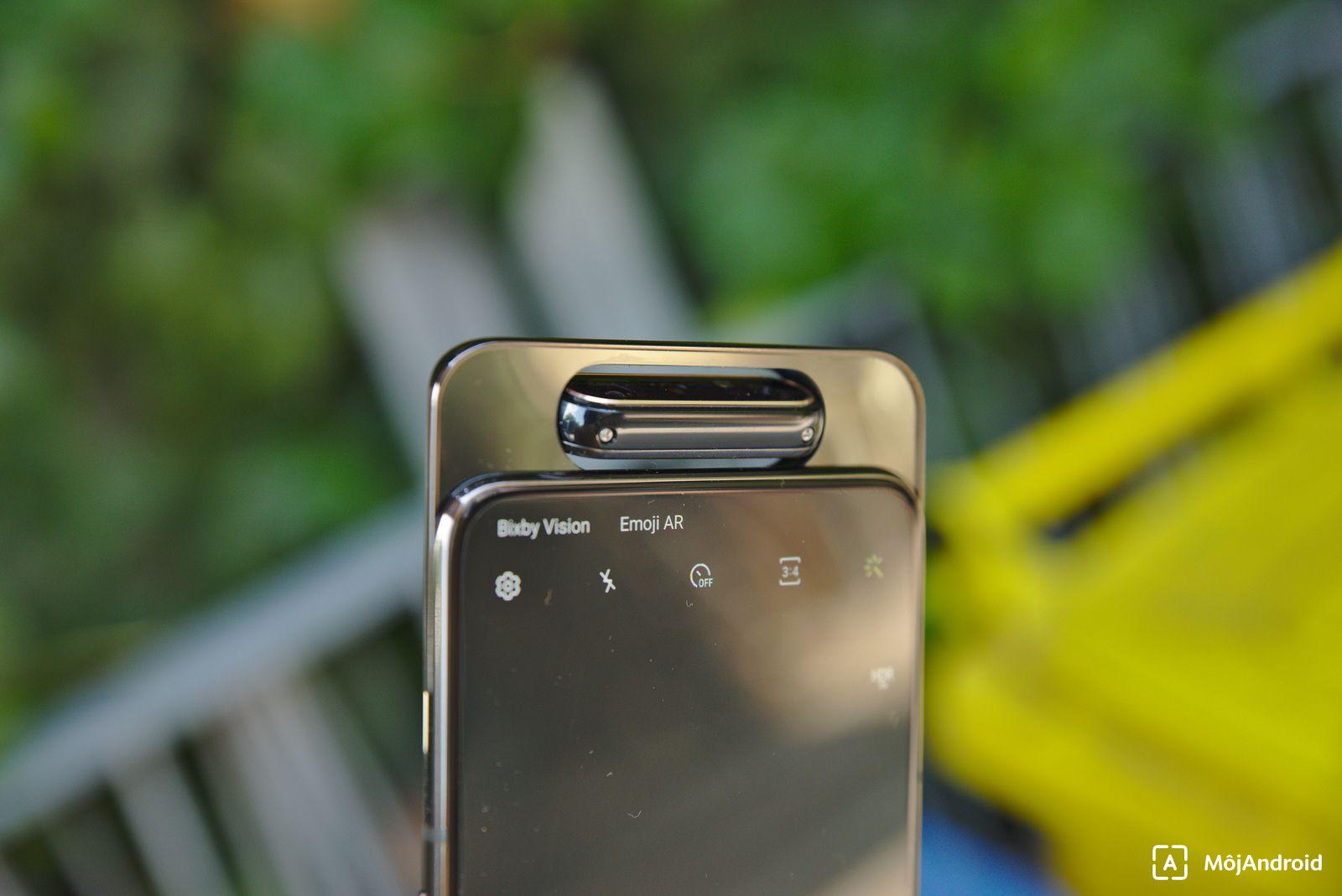 Samsung Galaxy A80 fotoaparát