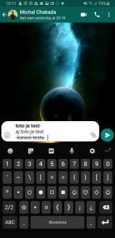 ako menit styl pisma whatsapp