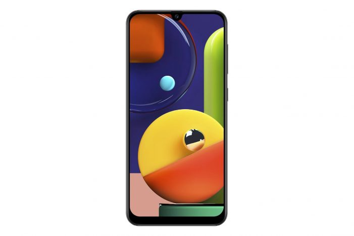 Samsung Galaxy A50s displej