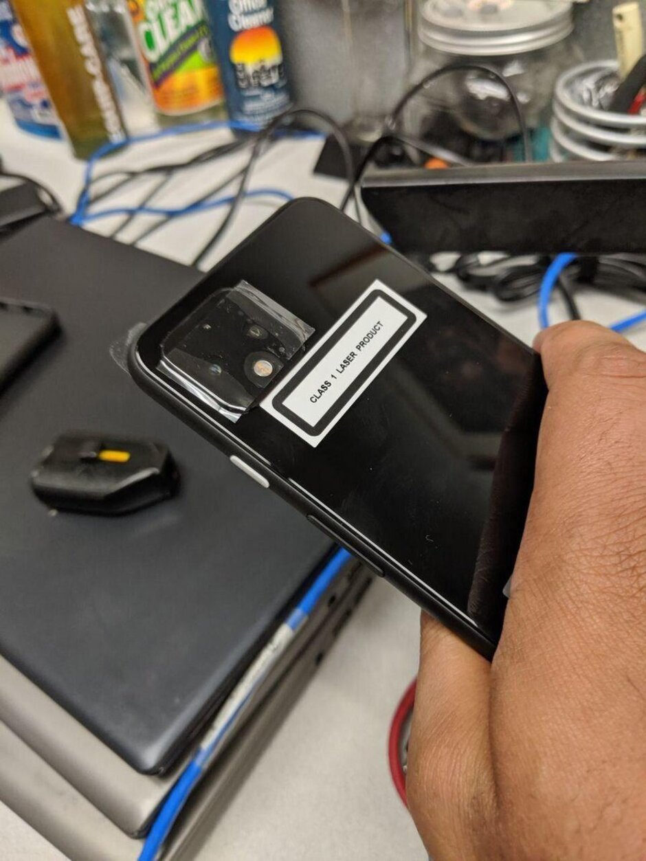 Google Pixel 4 fotoaparát