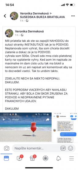 Facebook podvod strana 1