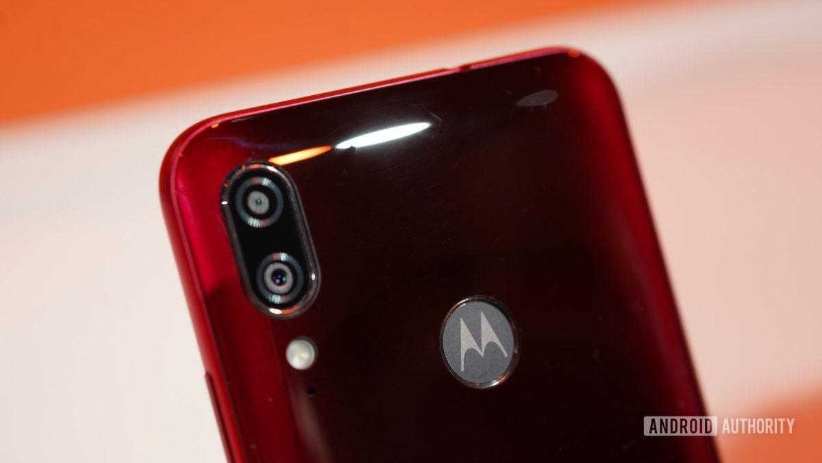 Motorola moto e6 plus fotoaparát