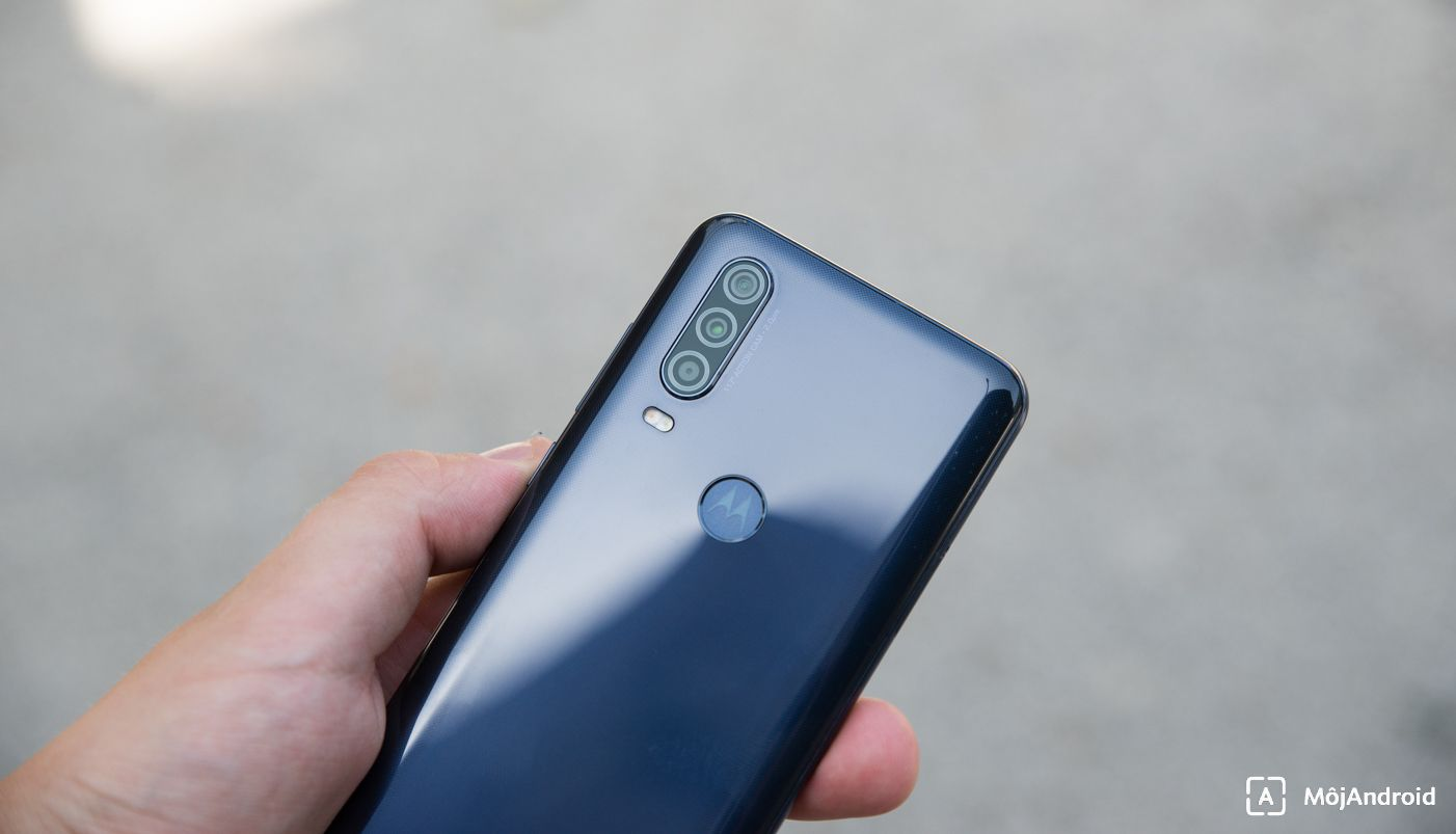 motorola one action fotoaparat