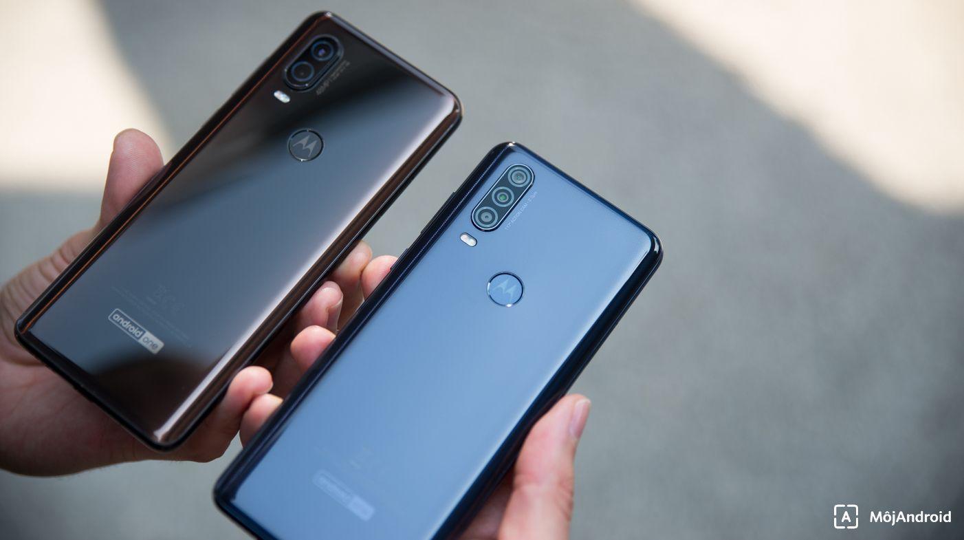 Motorola one vision vs one action konštrukcia