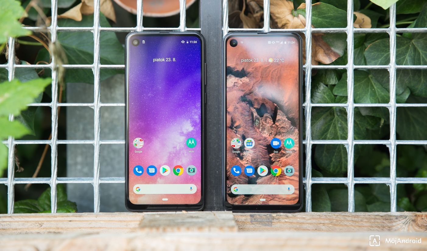 Motorola one vision vs one action displej