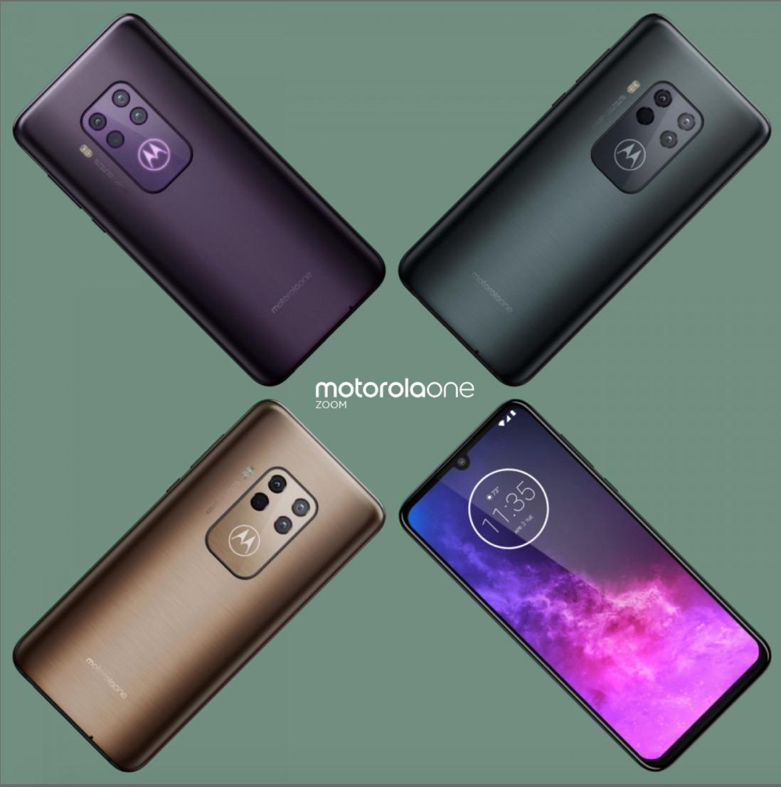 Motorola one zoom farby